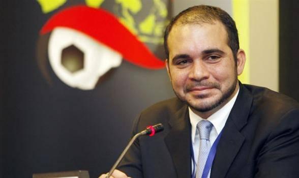 علي بن الحسين يترشح لرئاسة فيفا