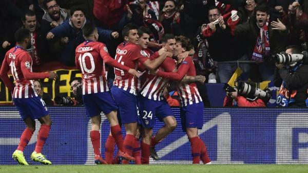 أتلتيكو مدريد يكرم وفادة يوفنتوس بهدفين نظيفين في ذهاب دوري الأبطال