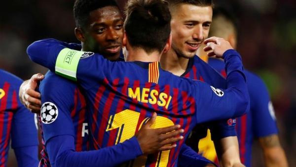 دوري أبطال أوروبا: برشلونة في ربع النهائي للمرة 12 على التوالي بفضل ميسي