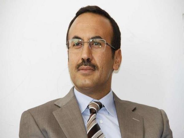 أحمد علي عبدالله صالح يعزي في وفاة النسي