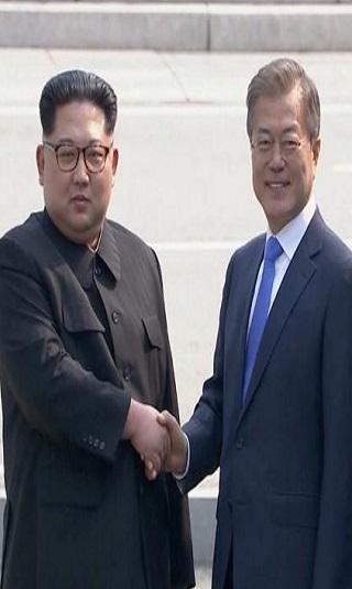 في قمة تاريخية.. الكوريتان توافقان على نزع السلاح النووي من شبه الجزيرة