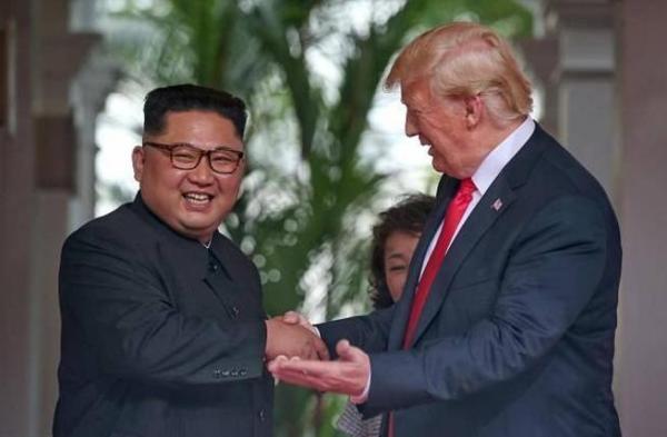 """ترامب: المحادثات النووية مع كوريا الشمالية """"تمضي بشكل جيد"""""""