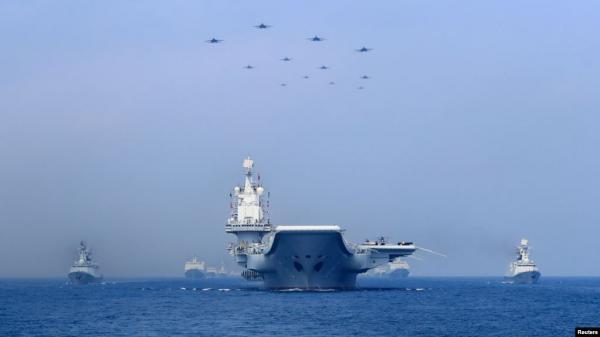 """واشنطن تتهم بكين بـ""""البلطجة"""" في بحر الصين الجنوبي"""