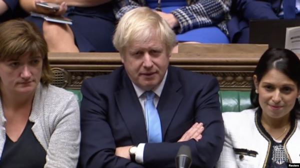 """بريكست.. جونسون يعلن التوصل لاتفاق """"عظيم"""" مع الاتحاد الأوروبي"""