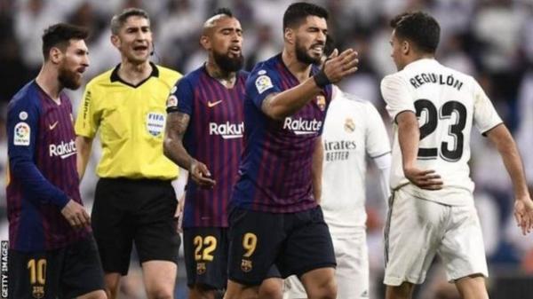 تأجيل مباراة الكلاسيكو بين ريال مدريد وبرشلونة لأسباب أمنية