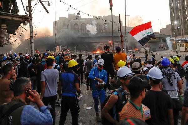 القوات العراقية تقتل 13 محتجا بالرصاص في محاولة لإخماد الانتفاضة