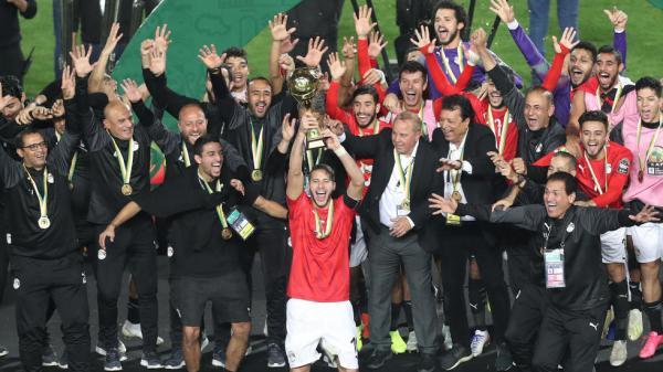 منتخب مصر يتوج بطلا لكأس أمم أفريقيا تحت 23 عاما
