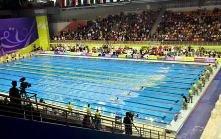 منتخب اليمن يشارك في بطولة العالم للسباحة بقطر