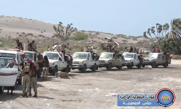 الحديدة: القوات المشتركة تكبد مليشيا الحوثي عشرات القتلى والجرحى بهجوم فاشل على حيس