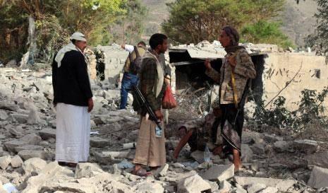 صحيفة عربية: الجيش اليمني وأنصار الله يقصفون قاعدة الملك خالد الجوية (تقرير)