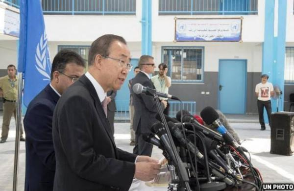 بان: إغلاق قطاع غزة عقاب جماعي يجب ضمان المساءلة بشأنه