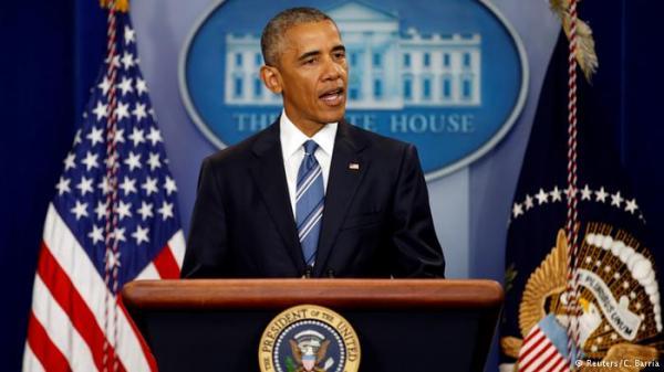 أوباما يحذر من &#34هيستيريا&#34 مالية عالمية بعد الانفصال البريطاني