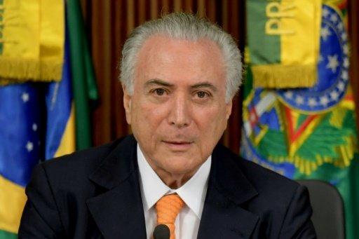 المحكمة العليا في البرازيل تسمح باجراء تحقيق اولي حول الرئيس تامر