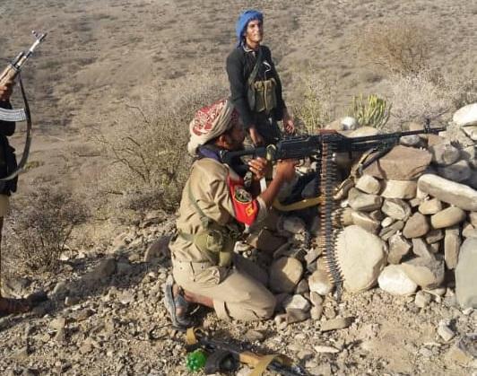 مقاومة الحشا بالضالع تصد أعنف هجوم حوثي غرب الطاحون