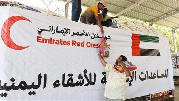 الهلال الإماراتي.. برنامج مكثف للمساعدات الخيرية برمضان في عديد محافظات يمنية