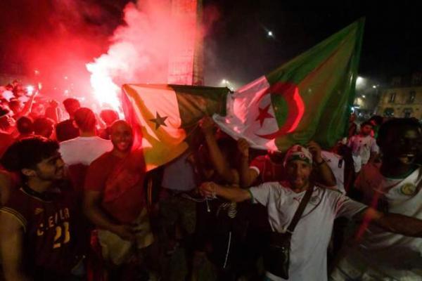 كأس الأمم الإفريقية: توقيف 280 شخصا في فرنسا خلال احتفالات بتأهل الجزائر لنهائي البطولة