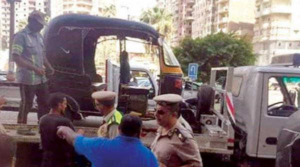 شوارع مصر تودع «التوك توك»