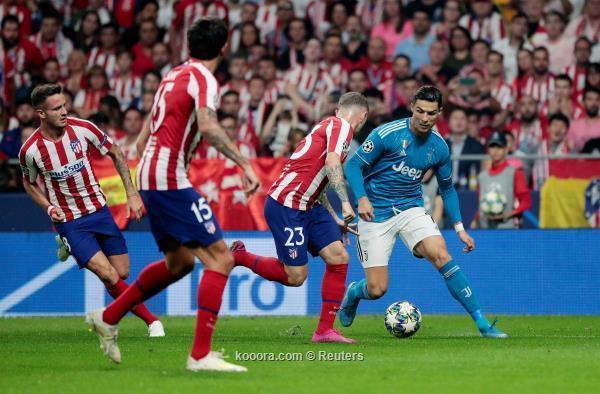 أتلتيكو مدريد يُحبط يوفنتوس بتعادل في الوقت القاتل
