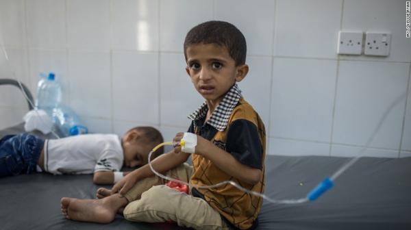 الصحة العالمية: 913 حالة وفاة بوباء الكوليرا في اليمن خلال 2019