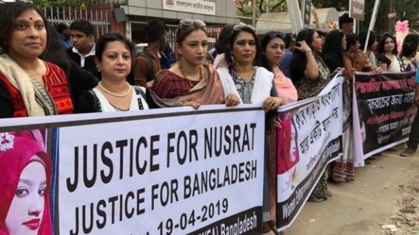 الإعدام لـ16 أدينوا بإحراق فتاة حتى الموت في بنغلاديش