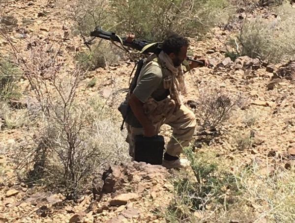 تعز.. القوات المشتركة تصد هجوماً حوثياً على البرح
