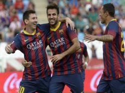 برشلونة يواصل انتصاراته ويعود بثلاث نقاط ثمينة من أرض الميريا