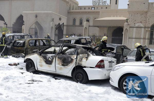 داعش يتبنى تفجير مسجد للشيعة في الدمام بالسعودية