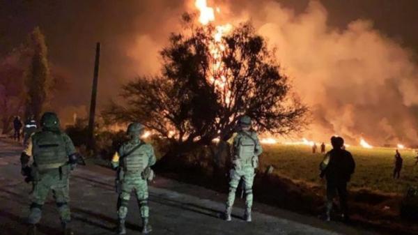 الحكومة المكسيكية: ارتفاع حصيلة الحريق في أنبوب النفط الى 66 قتيلا