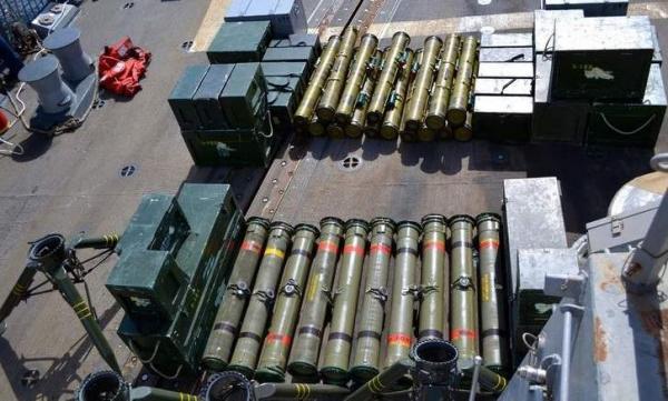 """""""ميديا بارت"""" الفرنسي: الحوثيون يتلقون شحنات أسلحة من قطر"""