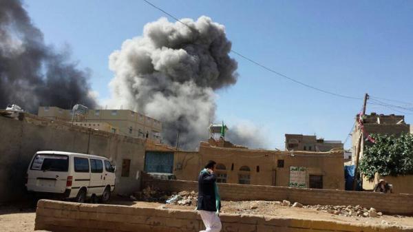 مقتل العشرات من الحوثيين بغارات مركزة للتحالف بكتاف صعدة