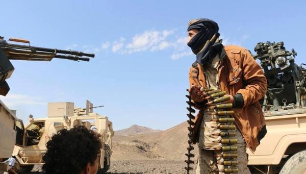 مواجهات عنيفة أعقبت صد رجال القبائل والمساندين لهم هجوماً لمليشيا الحوثي في مديرية الحشا بالضالع