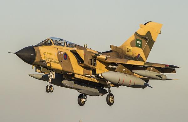 التحالف يعلن استهداف مواقع تخزين وتجهيز بدون طيار وعربات الإطلاق في صنعاء
