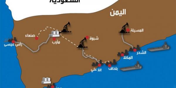 اليمن يستهدف تصدير نحو 75 ألف برميل من النفط في 2019