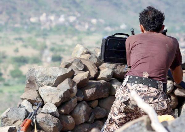 محاولة تسلل فاشلة لمليشيا الحوثي بدمت الضالع تكبدها خسائر فادحة
