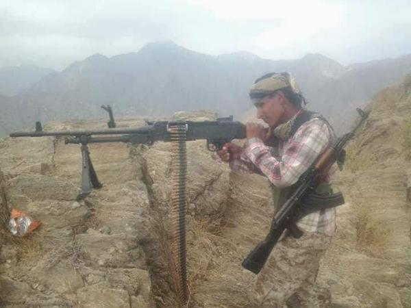 القوات الحكومية تتقدم غرب القبيطة وخسائر بشرية للمليشيات الحوثية