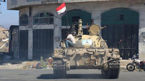 القوات الحكومية تحبط مؤامرة حوثية إصلاحية بتعز