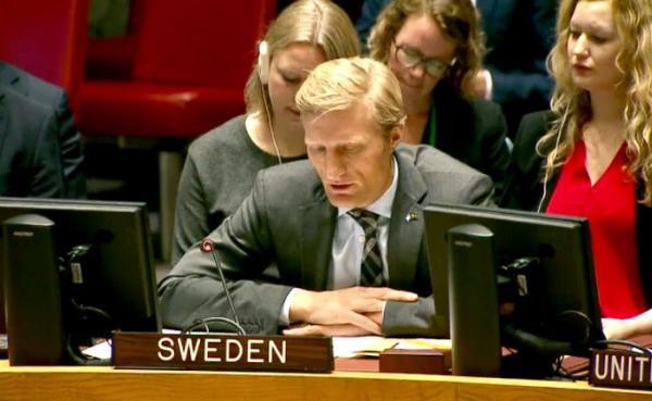 نص إحاطة مندوب السويد في مجلس الأمن بشأن اليمن