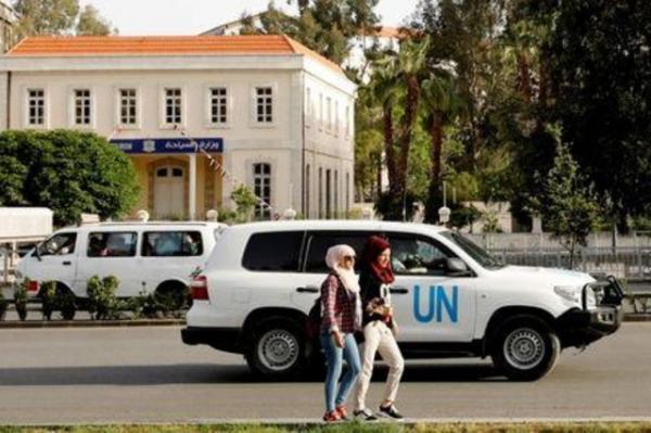 مشاهدة مركبة للأمم المتحدة قرب موقع هجوم كيماوي مزعوم في سوريا