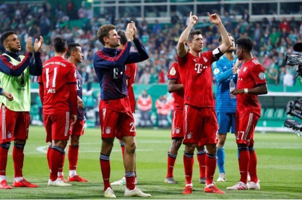 بايرن يتأهل لنهائي كأس المانيا ويحتفظ بالأمل في الثنائية