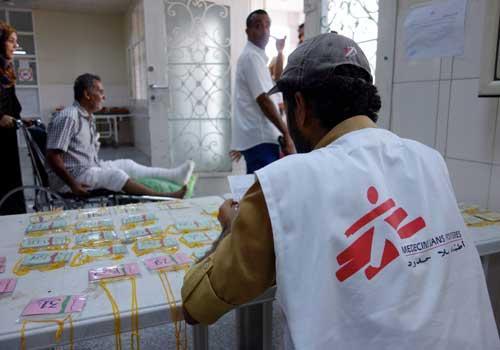 أطباء بلا حدود تستأنف عملها في مدينة عدن