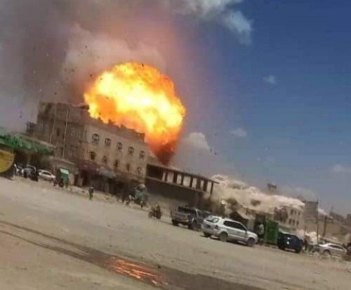 منظمة تكشف سبب انفجار سعوان بصنعاء الذي أودى بحياة 14 طالباً وطالبة