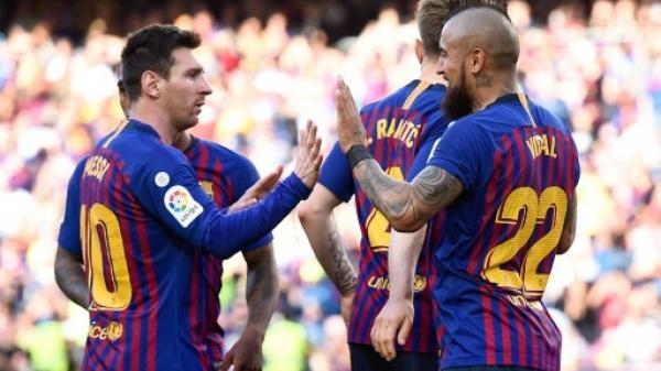 بطولة إسبانيا: برشلونة يودع جمهوره بفوز وضع فالنسيا في المركز الرابع
