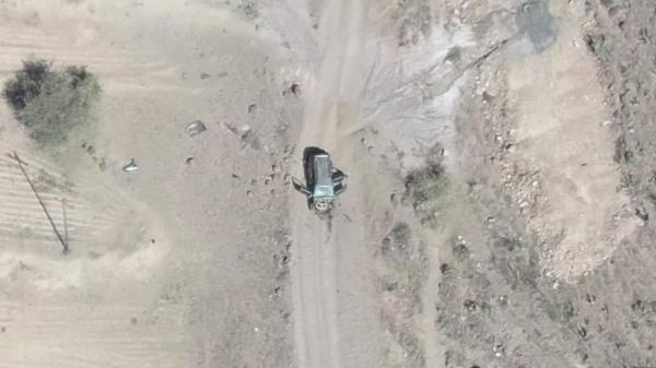 طيران التحالف يقصف مواقع الحوثيين شمال قعطبة بالضالع