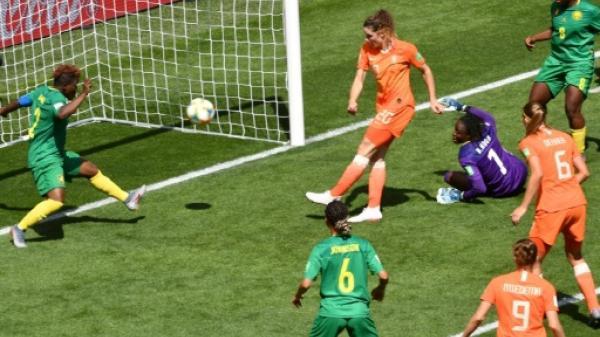 مونديال السيدات 2019: هولندا الى ثمن النهائي بفوز ثان على الكاميرون