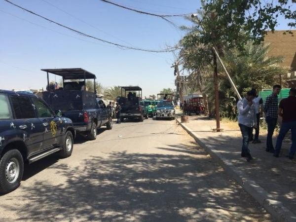 الأمن العراقي يطوق مقر مليشيا &#34حزب الله&#34 بعد مواجهات شرقي بغداد