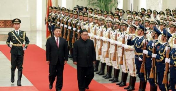 كيم جونغ أون يشيد بـ&#34الوحدة&#34 مع الصين خلال زيارته الجديدة