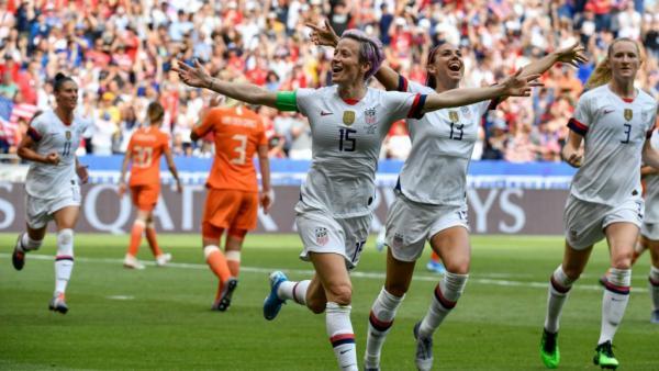 أمريكا تحرز لقب كأس العالم للسيدات للمرة الرابعة