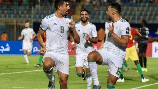كأس الأمم الأفريقية 2019: الجزائر تشق طريقها لربع النهائي إثر فوزها على غينيا 3-صفر