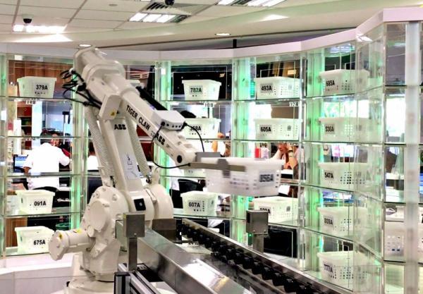 السعودية.. بدء عمل أول صيدلية ذكية يديرها &#34روبوت&#34