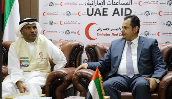 وزارة الاشغال والطرق تثمّن جهود الهلال الأحمر الإماراتي